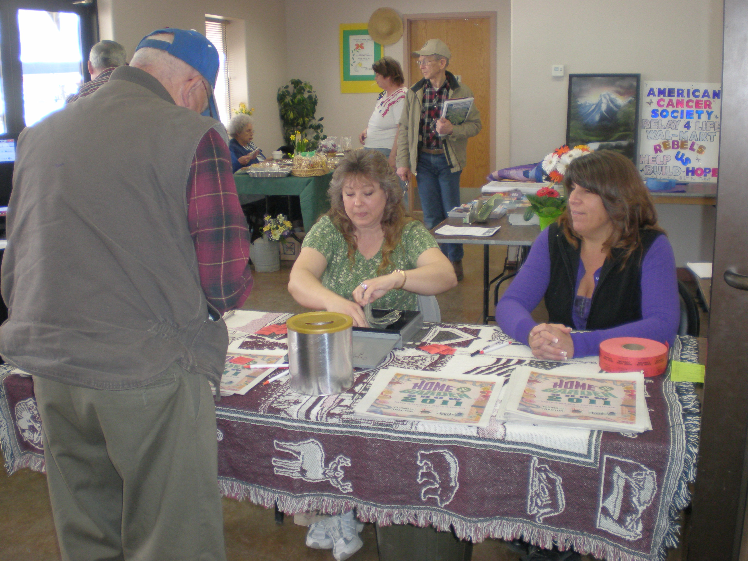 Brenda at Home Show Colville 2012